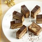Nugát s čokoládovou polevou