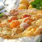 Listový koláč s mandlemi