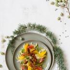Fenyklový salát s citrusy a mátou