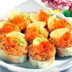 Chuťovky s mrkví a majonézou