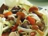 Pikantní zelí s kyselými houbami