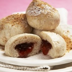 Perníkové knedlíky s marmeládou