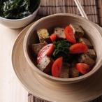 Grilované tofu a salát z mořských řas