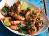 Gamberi in salsa krevety s bylinkovou salsou