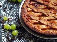 Italská crostata s marmeládou