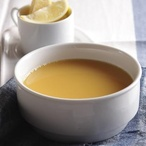 Avgolémono - kuřecí citronová polévka