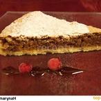 Ořechový koláč I