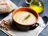 Mangoldová polévka s cizrnou