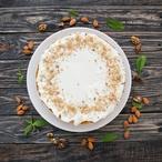 Ořechový koláč s ricottou