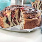 Srolovaný kynutý koláč
