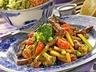 Hovězí nudličky se zeleninou