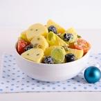 Barevný bramborový salát