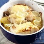 Zapečené rybí filé s bramborami a limetkami