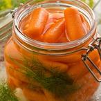 Nakládaná mrkev a ředkev