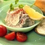 Tvarohový krém s uzenou rybou a majonézou