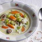 Rybí Waterzooi - rybí polévka
