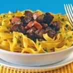 Rigatoni con peperoni – krátké těstoviny s paprikou