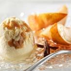 Vanilkovo - karamelová zmrzlina s hruškami