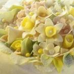 Jarní květinový dort