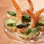 Košíčky s krevetami