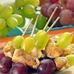 Pidišpízy s hroznovým vínem