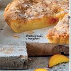 Broskvový koláč s frangipane