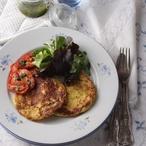 Bramborové omeletky se zeleninou