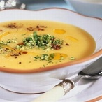 Belgická kerblíková polévka