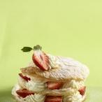 Jahodové dortíky s krémem z mascarpone
