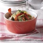 Rýže s krevetami a zeleninou