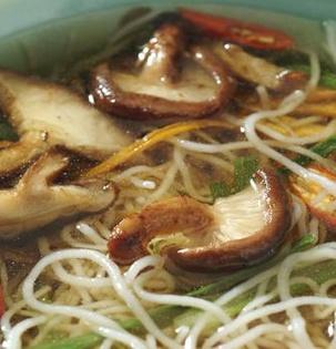 Pikantní asijská polévka
