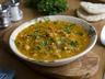 Kořeněná polévka z naklíčené cizrny