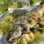 Ryba se sezamovou omáčkou