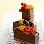 Jemný krém z hořké čokolády