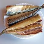 Pečená uzená makrela