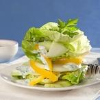 Salát s kefírovou zálivkou
