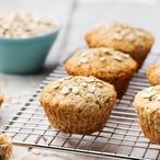 Mražené ovesné muffinky