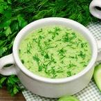 Krémová petrželová polévka