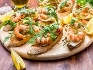 Bánh mì s krevetami