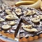 Banánový dort s čokoládou