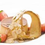 Krém Caramel s mandlovým tuiles
