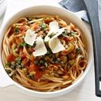 Špagety s krůtími jatýrky