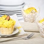 Banánovo-mangové muffiny