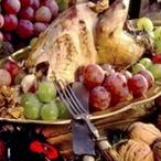 Bažant na víně s ořechy