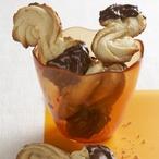 Křupavá esíčka máčená v čokoládě