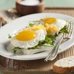 Opečený tvaroh s vejci