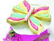 Motýlí dort