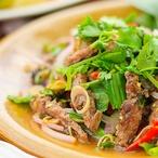 Salát s grilovaným hovězím I