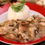 Kuře na sušených houbách