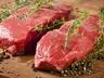Hovězí steak a salát tabouleh z quinoni